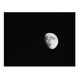 Carte postale de lune