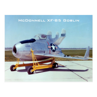 Carte postale de lutin de McDonnell XF-85
