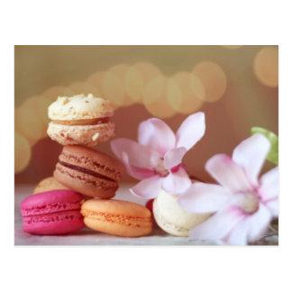 Carte postale de Macarons
