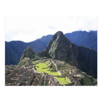 Carte postale de Machu Picchu