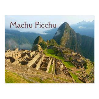 Carte postale de Machu PIcchu Pérou