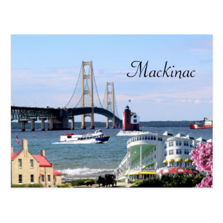 Carte postale de Mackinac