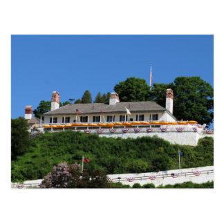 Carte postale de Mackinac de fort
