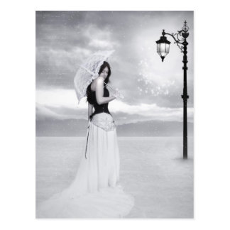 "Carte postale de ""Madame Snowflake"""