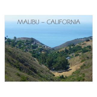 Carte postale de Malibu !