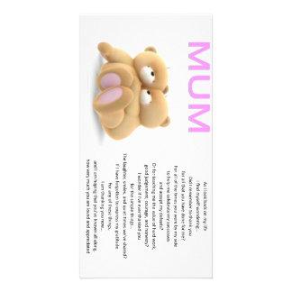 carte postale de maman
