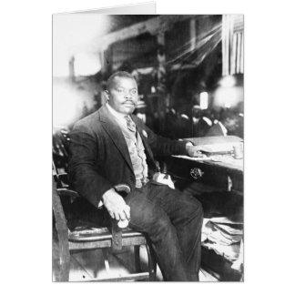Carte postale de Marcus Garvey