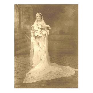 Carte postale de mariage d'Adele