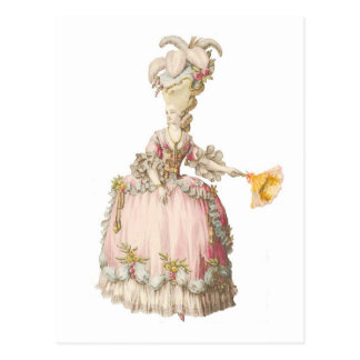 Carte postale de Marie Antoinette de Français