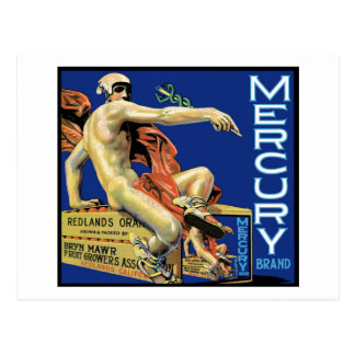 Carte postale de marque de Mercury