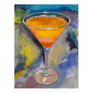 Carte postale de Martini de mangue