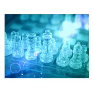 Carte postale de match d'échecs