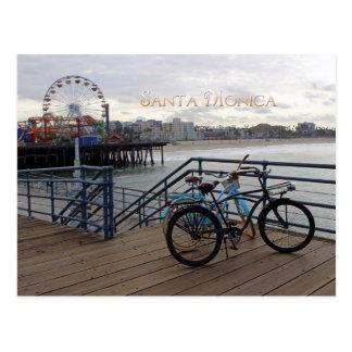 Carte postale de matin de Santa Monica !
