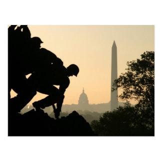 Carte postale de matin d'Iwo Jima
