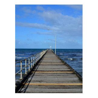 Carte postale de Melboune de bord de la mer de