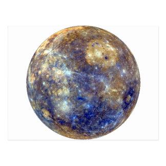 Carte Postale ~ de MERCURY v2 (système solaire) de PLANÈTE
