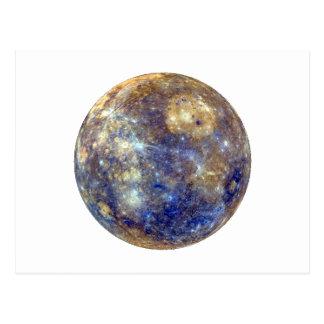 Carte Postale ~~ de MERCURY v2 (système solaire) de PLANÈTE