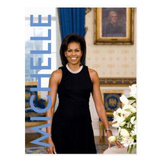 Carte postale de Michelle Obama