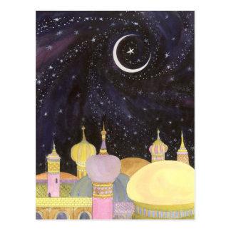 Carte postale de mille et une nuits