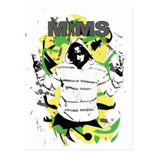 Carte postale de MIMS - éclaboussure - exclusivité