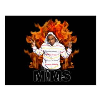 Carte postale de MIMS - flamme éternelle