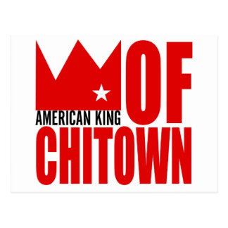 Carte postale de MIMS - roi américain de Chi-Ville