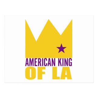 Carte postale de MIMS - roi américain de L.A.