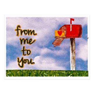 Carte Postale de moi à vous