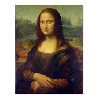 Carte postale de Mona Lisa