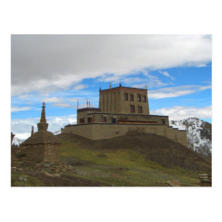 Carte postale de monastère de Gyandrak
