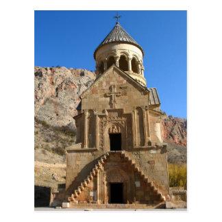 Carte postale de monastère de Noravank