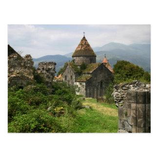 Carte postale de monastère de Sanahin