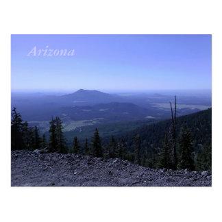 Carte postale de montagne de l'Arizona