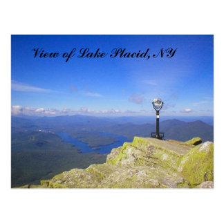 Carte postale de montagne de Whiteface