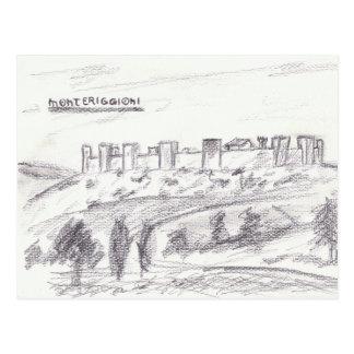 Carte postale de Monteriggioni
