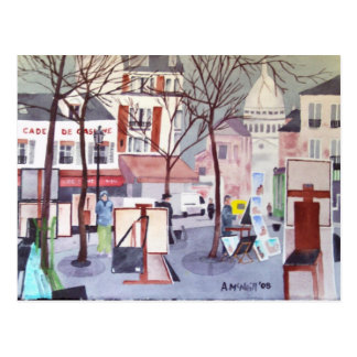 Carte postale de Montmartre