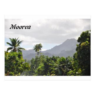 Carte postale de Moorea, Polynésie française
