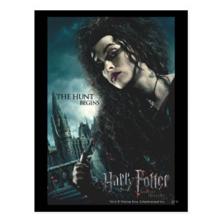 Carte Postale De mort sanctifie - Bellatrix Lestrange 2