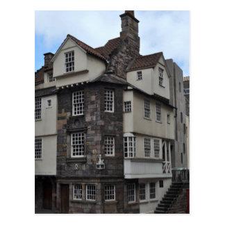 Carte postale de musée de Chambre de John Knox