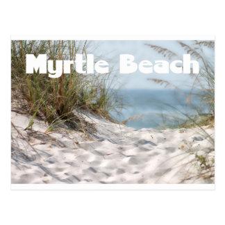 Carte postale de Myrtle Beach, la Caroline du Sud