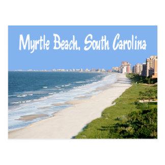 Carte postale de Myrtle Beach, la Caroline du Sud,