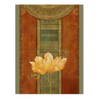Carte postale de Namaste
