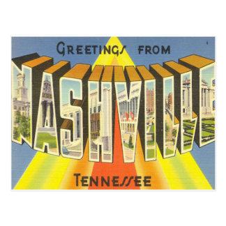 Carte postale de Nashville