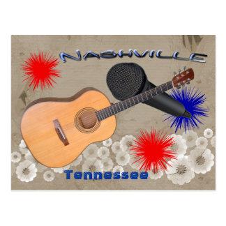 Carte postale de Nashville Tennessee