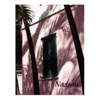 Carte postale de Nassau, Bahamas