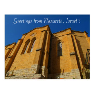 Carte postale de Nazareth Israël