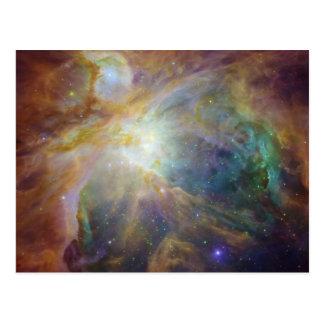Carte postale de nébuleuse d'Orion