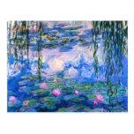 Carte postale de nénuphars de Monet