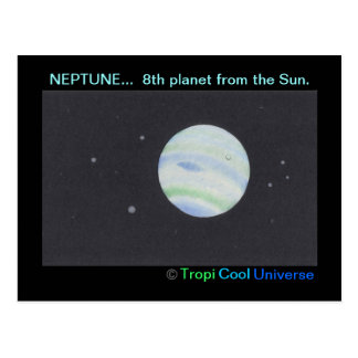 Carte postale de NEPTUNE de planète