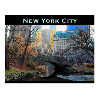 Carte postale de New York City
